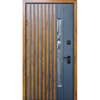 Двери Страж Пруф Рио Z Loft золотой дуб+антрацит
