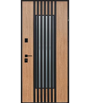 Двери STRAJ PROOF Regola Терморазрыв на полотне и коробке