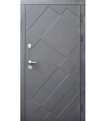 Входные двери Форт Стандарт Графит УЛИЦА