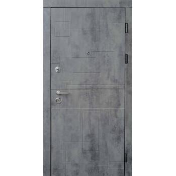 Входные двери Форт Стандарт Лабиринт оксид темный