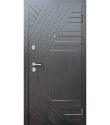 Входные двери Форт Стандарт Легион венге темный УЛИЦА