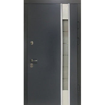Двери Термопласт TERMOSTEEL 21-12 антрацит