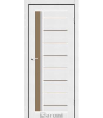 Двери Darumi BORDO белый текстурный