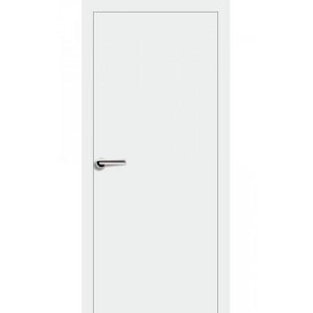 Двери Эмаль 7.01 Брама белая эмаль глухое