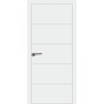 Двери Эмаль 7.02 Брама белая эмаль глухое