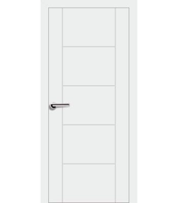 Двери Эмаль 7.03 Брама белая эмаль глухое