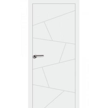 Двери Эмаль 7.06 Брама белая эмаль глухое