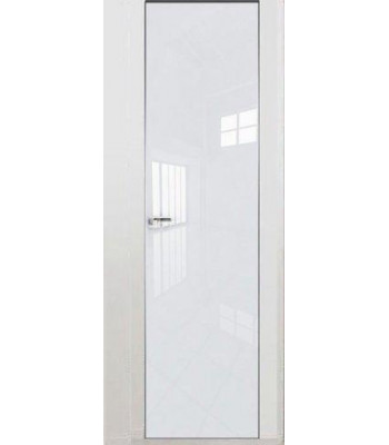 """Двери скрытого монтажа Invisible стекло """"Lacobel"""""""
