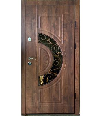 Двери входные REDFORT Премиум Рассвет с ковкой + терморазрыв