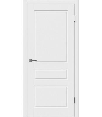 Дверное полотно Hygge Chester глухое (белая эмаль)
