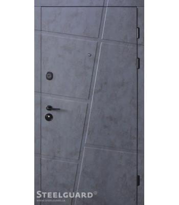 Двери Steelguard Masto белые внутри