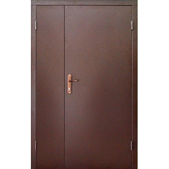 Двери входные REDFORT эконом металл/металл 120*205 RAL 8017