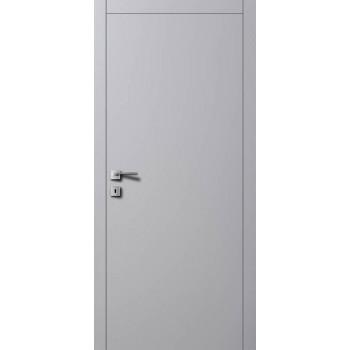 Дверь Авангард A1 7004 серый шелк
