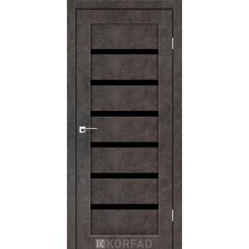 Межкомнатные двери KORFAD PORTO DELUXE PD-01 лофт бетон