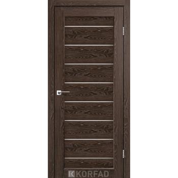 Межкомнатные двери KORFAD PIANO DELUXE PND-01 марсала стекло сатин