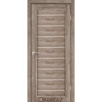 Межкомнатные двери KORFAD PIANO DELUXE PND-01 эш вайт стекло сатин