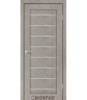 Межкомнатные двери KORFAD PIANO DELUXE PND-01 лайт бетон