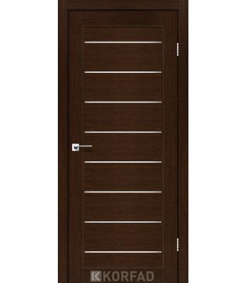 Межкомнатные двери KORFAD PIANO DELUXE PND-01 венге стекло сатин