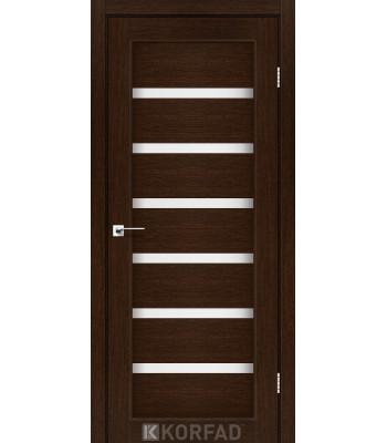 Межкомнатные двери KORFAD Porto PR-01 венге