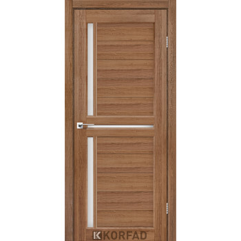 Межкомнатные двери KORFAD SCALEA SC-04 дуб браш стекло сатин