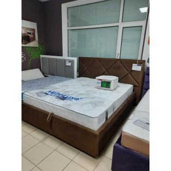 Кровать-подиум Кристалл выставочный образец 160*200