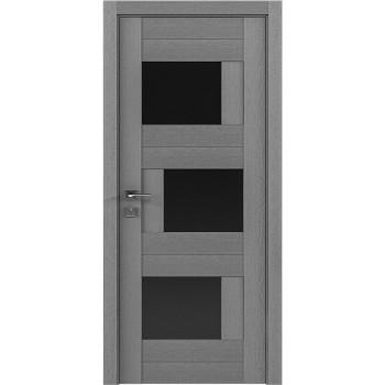 Двери Rodos Modern Palermo стекло BLK