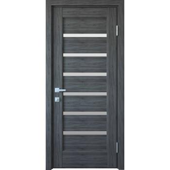 Двери Новый Стиль Линнея грей стекло сатин