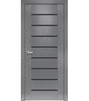 Двери Новый Стиль коллекция Orni-X Парма BLK Х-серый