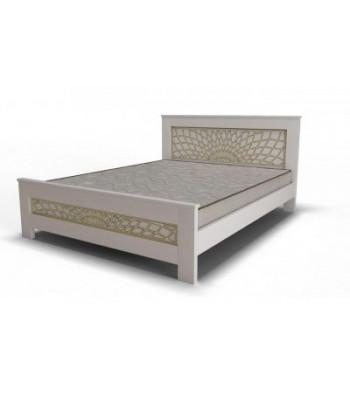 """Кровать """"Мадрид"""" белая"""