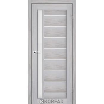 Межкомнатные двери KORFAD FLORENCE FL-01 серая мадрина 22 цвета