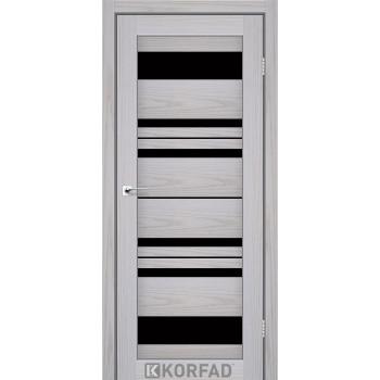 Межкомнатные двери KORFAD FLORENCE FL-04 серая мадрина BLK , 22 цвета