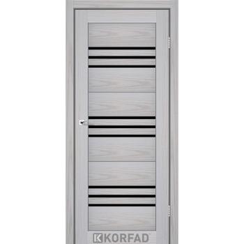 Межкомнатные двери KORFAD FLORENCE FL-05 серая мадрина BLK , 22 цвета