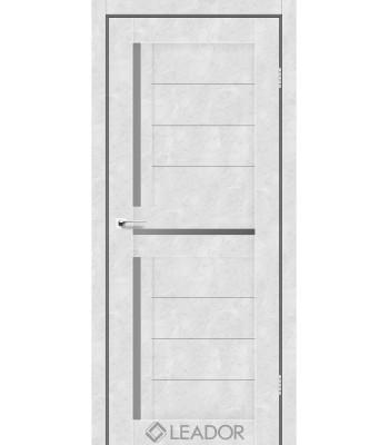 Двери Leador lazio бетон белый