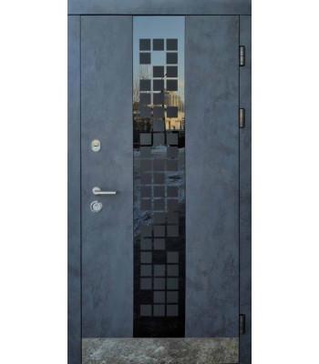 Входные двери Форт Трио Сити Glass УЛИЦА