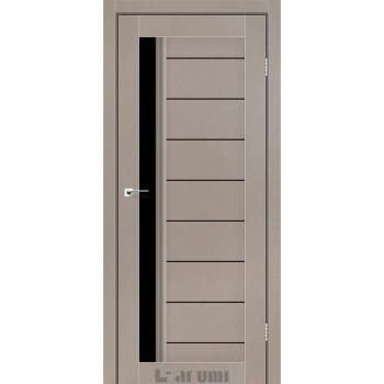 Двери Darumi BORDO серый краст BLK
