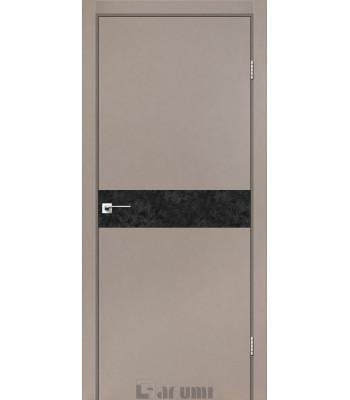 Двери Darumi PLATO LINE PTL-01 серый краст