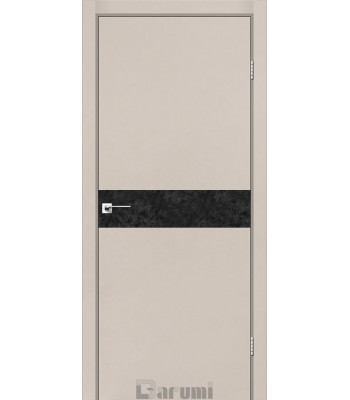 Двери Darumi PLATO LINE PTL-01 дымчастый краст
