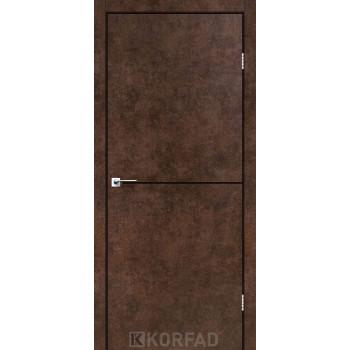 Межкомнатные двери KORFAD DLP-01 АРТ БЕТОН + декор