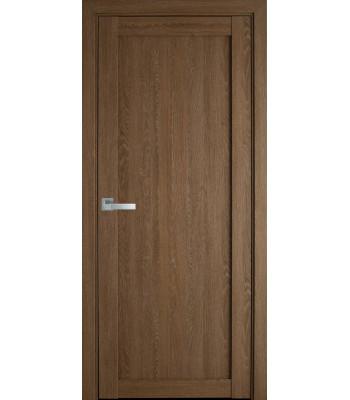Двери Новый Стиль ПВХ Ultra Лейла дуб медовый