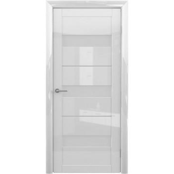 Межкомнатные двери Albero Praga Белый Глянец стекло белое