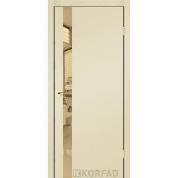 Межкомнатные двери KORFAD GLP-02 Super PET Накладные стекло, зеркало или декор из CPL
