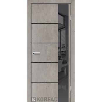 Межкомнатные двери KORFAD GLP-05 БЕТОНЫ Накладные стекло, зеркало или декор из CPL