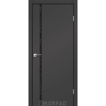 Межкомнатные двери KORFAD GLP-09 Super PET Накладные стекло, зеркало или декор из CPL