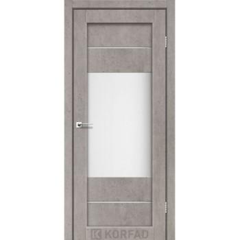 Межкомнатные двери KORFAD PARMA PM-09 лайт бетон