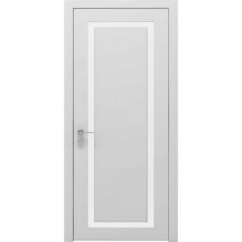 Двери Rodos Cortes Venezia белый мат стекло сатин