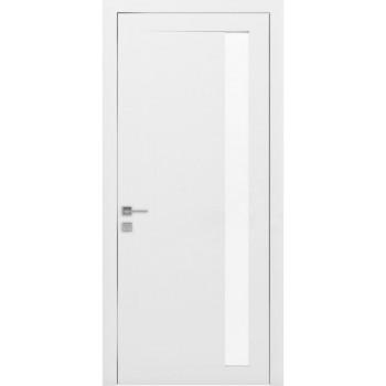 Двери Rodos Loft Arrigo белый мат ЗЕРКАЛО