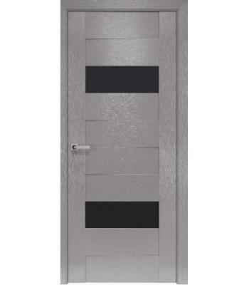 Двери Новый Стиль коллекция Orni-X Женева BLK Х-серый