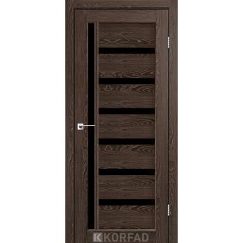 Межкомнатные двери KORFAD VALENTINO DELUXE VLD-01 дуб марсала