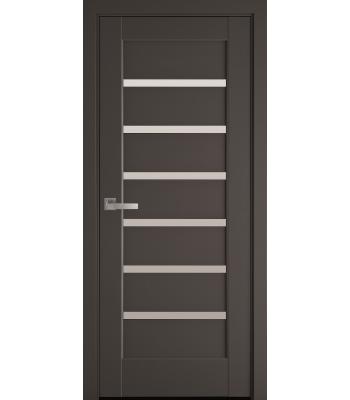 Двери Новый Стиль Линнея антрацит сатин