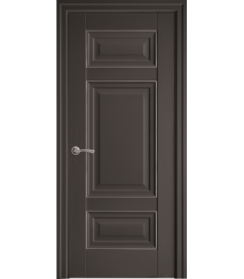 Двери Новый Стиль ШАРМ с молдингом антрацит